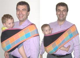 Μωρά διαφορετικής ηλικίας και βάρους στο ίδιο pouch