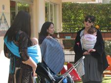 Δωρεάν συναντήσεις για το babywearing και τους μάρσιπους αγκαλιάς