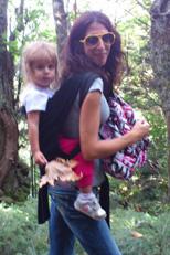 Σούπερ η μαμά με το μωρό της!