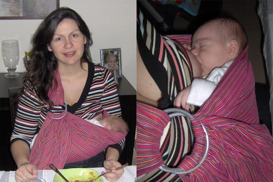 θηλασμός μωρού με ελεύθερα χέρια για τη μαμά
