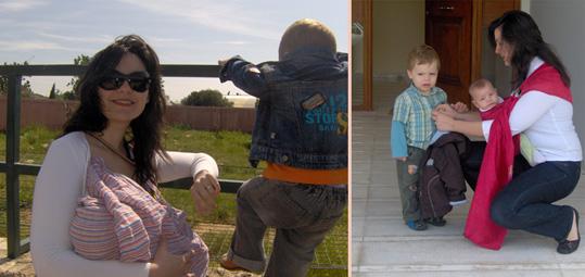 Το μεγαλύτερο παιδί δε χάνει τη βόλτα του επειδή έχει καινούριο αδελφάκι!