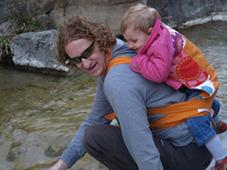 Απολαμβάνοντας την ελληνική φύση μαζί με το μωρό!