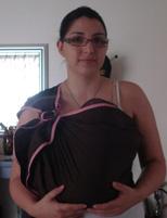 Νεογέννητο σε sling