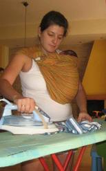 Δουλειές στο σπίτι με νεογέννητο μωρό