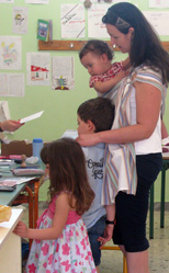 Στις εκλογές μαζί με τα παιδιά