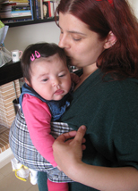 Φιλάκια με το μωράκι