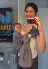 Φωτογραφία με το μωρό