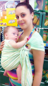 Για ψώνια με το μωρό