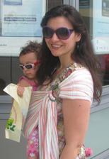 Με το μωρό στην τράπεζα