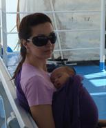 Με το μωρό ταξίδι με πλοίο
