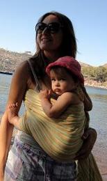 Με το μωρό στη θάλασσα