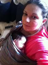 Νεογέννητο σε μάρσιπο