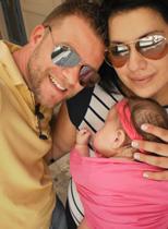 Οικογένεια με μωρό