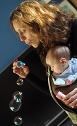 Παίζοντας με το μωρό