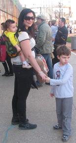 Βόλτα με το μωρό σε μάρσιπο