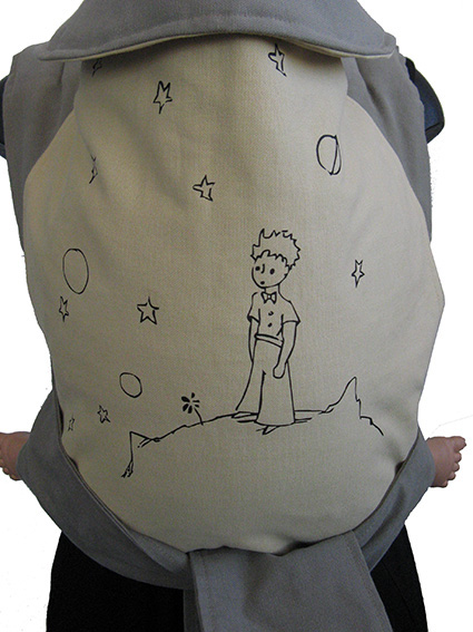 Little Prince under the sky 15€