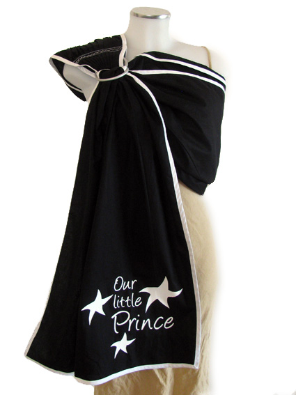 """<a href=""""http://www.babywearing.gr/product/ironon-our-little-prince-stars/""""target=""""_blank"""">Our little prince (stars)</a> 15€"""