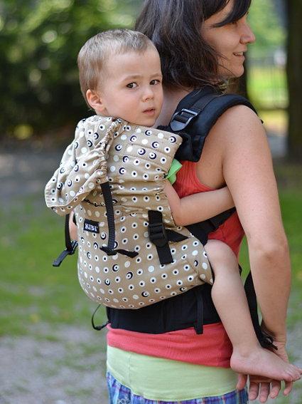 KiBi Baby Carrier Beige Dots via Asteraki Slings df2aabab7a8