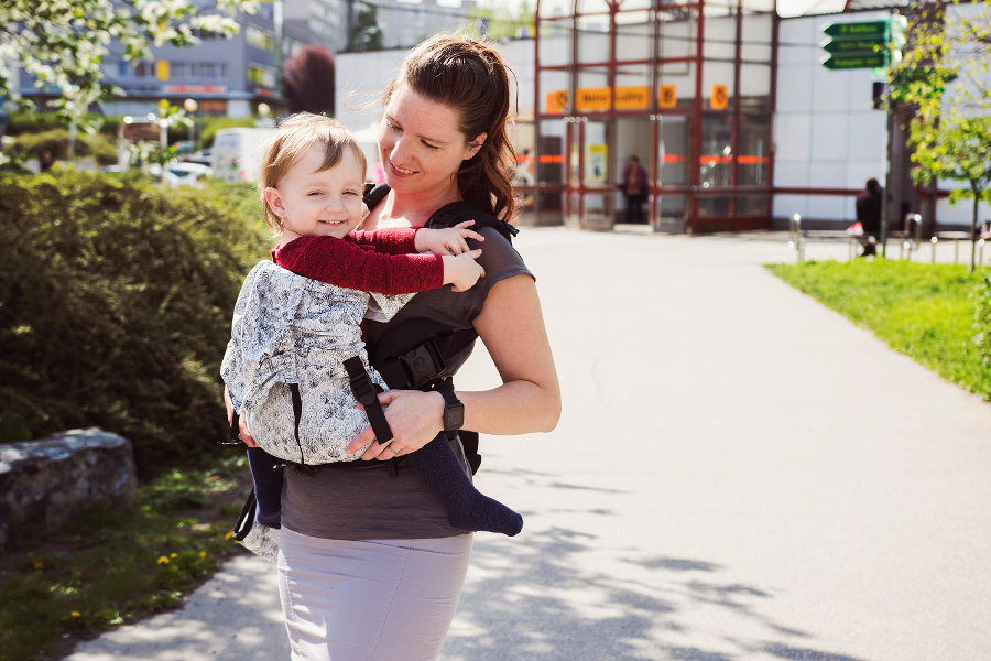 KiBi Baby Carrier Dandelion via Asteraki Slings - Asteraki Slings 0839079d139