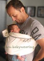Μπαμπάς με νεογέννητο