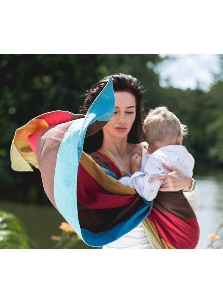 Marsipos baby sling by Luna